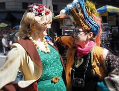 wEdP3270645 (kekyrex) Tags: costumes holiday ny newyork hats parade easterparade nycnewyork nyceasterparade