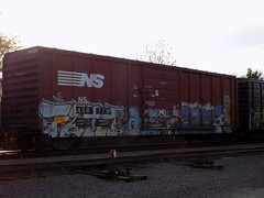 DSCN0739 (rockrout9786) Tags: art graffiti trains barf fart railfanning benching