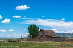 Moulton Barn (Frank's Focus) Tags: travel august wyoming nationalparks grandteton 2014 mormonrow