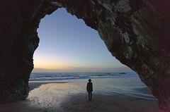 Praia Adraga (mylo73) Tags: ocean park sunset sea praia beach portugal coast sintra atlantic national cave cascais adraga