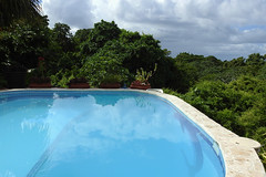 West End - Villa Delfin Swimming Pool (Drriss & Marrionn) Tags: travel pool island hotel outdoor honduras diving swimmingpool tropicalisland scubadiving caribbean westend centralamerica caribbeansea roatn caribbeanisland mesoamericanbarrierreef bedroomappartment villadelfin
