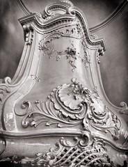 Baroque stove (Oliver_D) Tags: vienna wien monochrome stove baroque barock ofen schwarzweis