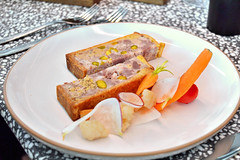 Champeaux (Roselinde Alexandra) Tags: travel food paris france vegetables log europe meat culinary pate