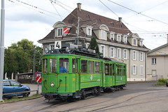126 (KennyKanal) Tags: tram basel oldtimer grn bvb basler verkehrsbetriebe schienenfahrzeug drmmli