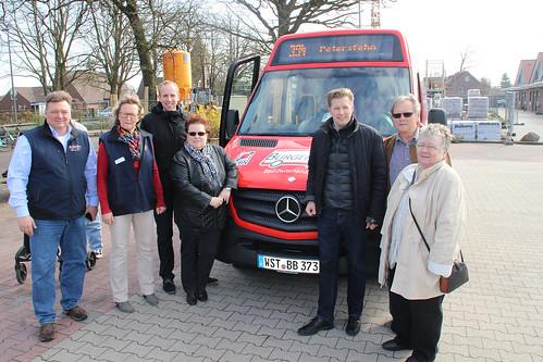 Treffen mit den Engagierten des Bürgerbusses in Petersfehn