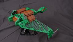 Lego Klingon Bird of Prey (jonmunz) Tags: bird trek star lego klingon prey