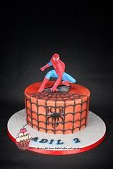 Spiderman cake (marias_cakes18) Tags: cake spiderman spidermancake buttercreamcake cakesforboys mariascakes