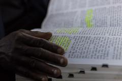 And God said... (dakonst) Tags: church colors dof religion depthoffield indoors bible img2366 canonef50mm14 canon6d secretathens