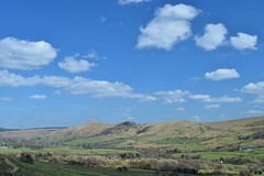 The Edale Valley (daviddaniels989) Tags: sky cloud field back derbyshire hill tor lose edale