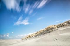 Minimal Dunes... (Lefers.) Tags: sky lighthouse plant beach nature netherlands grass strand landscape island fuji outdoor dunes nederland natuur ameland duinen fujinon vuurtoren friesland eiland landscap xt1 1024mm