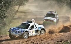 N 29: The crashed car (Jos M. F. Almeida) Tags: portugal rally tt 18 alentejo fronteira 2015 18edio 24horasdottfronteira