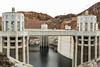 Running Low (Mark J. Whalen) Tags: arizona nevada hooverdam lakemead drought penstock
