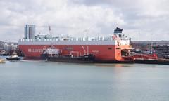 'Tamerlane' and 'Whitonia' - Southampton (Neil Pulling) Tags: uk england transport hampshire southampton shipping carcarrier southamptonwater walleniuswilhelmsen oiler tamerlane whitonia