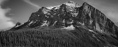 Monolith (Travel by WestEndFoto) Tags: travel mountain canada flickr natural alberta colleagues lakelouise scape naturephotography landscapephotography agenre fother cpeople bsubject dgeography danleyyip flickrwestendfotoep flickrtravelbywestendfoto flickrtravelbanff queueparkep
