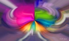 Verwirrung.. (cornelia_auguste) Tags: kunst digitale digiart farbe bunt farben farbenrausch bunte farbenspiel filterexperiment filtertechnik