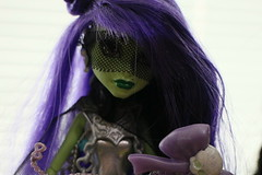 Bewitching gaze (Freyrferret) Tags: monster high witch ooak bewitched superheroine