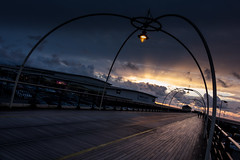 Dusk on Southport Pier (tabulator_1) Tags: southport southportpier