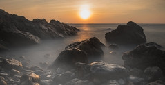 seascape (erwann.martin) Tags: ocean sea seascape landscape soleil outdoor coucher ligth extrieur ocan longue sunligth littoral erwannmartin