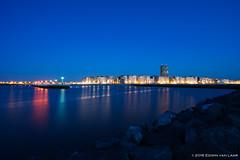 Sunset at Oostende Beach, Belgium (Laario) Tags: city nightphotography night landscape belgium nacht sony cityscapes belgi stedelijk nightshots oostende f4 stad landschap nachtfotografie 1635 stadsgezichten 2016 1635mm a7ii nachtfoto 16354 edwinvanlaar wwwlaariocom sel1635z sonya7ii ilce7m2 carlzeissvariotessartfe1635mmf4zaoss