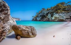 Cala Macarelleta pano (Miguel A. Garc) Tags: longexposure panorama beach spain rocks paradise arena panoramica whitesand menorca baleares balearicislands balears illesbalears longexpo arenablanca nikond600 longexposuredaylight