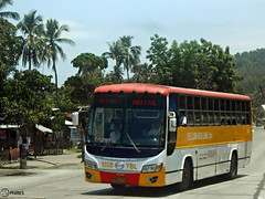 Yellow Bus Line 1108 (Monkey D. Luffy 2) Tags: road city bus public del photography photo coach nikon philippines transport vehicles transportation coolpix vehicle sur society hino davao coaches rk philippine grandeza enthusiasts philbes rk1jst