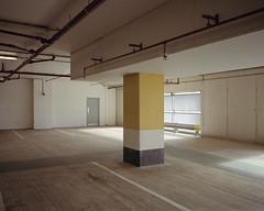 untitled ([Photom]) Tags: 120 film mediumformat concrete pillar 6x7 carpark unplace kodakportra400 mamiya7ii topographics