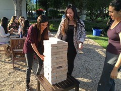 IMG_8207 (Keck Graduate Institute) Tags: sports students fun group lawn pharmacy jenga activities sop sopendofyearbbq042216
