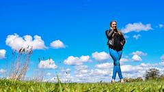 Kim Lobbezoo 19 (M van Oosterhout) Tags: portrait people woman sun lake holland cute netherlands girl beautiful face fashion female clouds model pretty photoshoot modeling stunning editorial