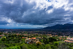 Dramatic Skies over the Valley (nadeeshacabral) Tags: ocean city sea summer sky italy mountains clouds landscape sony it valley sicily sicilia monreale a6000