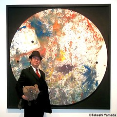 Dr. Takeshi Yamada and Seara (Coney Island Sea Rabbit) at the Chelsea art gallery district in Manhattan, New York on May 12, 2015.  20150512 006=C1 (searabbits23) Tags: ny newyork sexy celebrity rabbit art hat fashion animal brooklyn asian coneyisland japanese star tv google chelsea king artist gallery dragon god manhattan famous gothic goth uma ufo pop taxidermy vogue cnn tuxedo bikini tophat unitednations playboy entertainer oddities genius mermaid amc mardigras salvadordali performer unicorn billclinton seamonster billgates aol vangogh curiosities sideshow jeffkoons globalwarming mart magician takashimurakami pablopicasso steampunk damienhirst cryptozoology freakshow seara immortalized takeshiyamada roguetaxidermy searabbit barrackobama ladygaga climategate  manwithrabbit