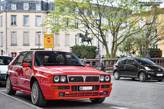 Lancia Delta HF Intgrale (Alexandre Prvot) Tags: auto france cars car sport automobile european parking transport automotive voiture route exotic nancy lorraine 54 supercar luxe berline exotics supercars ges 54000 dplacement meurtheetmoselle worldcars grandestsupercars