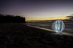 LightBall in Island (Antoine Camilli) Tags: light ball nikon long exposure orb land scape antoine rbs camilli d7000 antoinecamilli