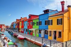 Isola Burano - Paradise of Italy (wai-photography) Tags: italien venice houses italy house canon eos italia colourful venezia venedig farbig bunt burano huser farbenfroh 60d