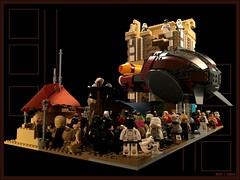 Kuat Planet-side Market (goatman461) Tags: star ruins ship lego market stormtroopers sone wars isb kuat