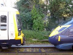 Faversham Station, Kent, England (PaChambers) Tags: uk england station port train town kent spring europe market britain south great railway historic east april cinque faversham southeastern 2016 javelin