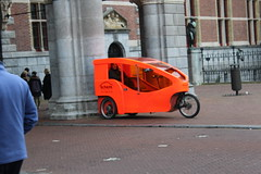 Trike Taxi (Davydutchy) Tags: art netherlands amsterdam museum march tricycle kunst taxi nederland national trike rijksmuseum paysbas pedal fiets niederlande cuypers 2016 fietstaxi