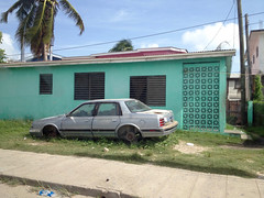 Belize City - Car (The Popular Consciousness) Tags: belize belizecity centralamerica