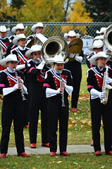 2015 Run for the Cure Showband Playing 3 (pokoroto) Tags: autumn people playing canada calgary for october run alberta cure 10 2015 calgarystampedeshowband showband     kannazuki   themonthwhentherearenogods 27