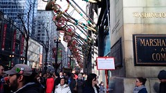 It's Christmastime in the City #1 (artistmac) Tags: christmas city decorations urban chicago illinois advent il macys statestreet marshallfields christmastime