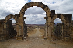 imgp3768 (Mr. Pi) Tags: gate arch ruin morocco volubilis archaeologicalsite