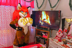 AURORA SPENCER HAPPY NEW YEAR (aurorathelittlevixen) Tags: sexy girl foxy furry mexican aurora fox spencer fandom vixen selene fursuit garrido supervixen superbabsy123