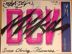 IMG_0351 (Mekrok Southern) Tags: art painting graffiti sticker postalsticker graff custom slaptag dcv