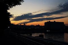 DSC07220 (Mrockdaimajin) Tags: sunset sky japan 夕暮れ 空 横浜 夕焼け