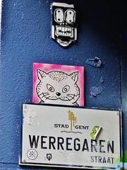 Dawa / Werregarenstraatje - 27 dec 2015 (Ferdinand 'Ferre' Feys) Tags: streetart graffiti belgium belgique belgië urbanart graff ghent gent gand graffitiart arteurbano artdelarue urbanarte