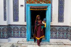 Bhitshah (Awais Yaqub) Tags: pakistan woman blessings child lap sufi sufism shalwarkameez sindhi childandmother bhitshah shahabdullatifbhitai