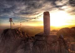 Adarra summit (Eneko Aldaz) Tags: nepal sunset atardecer country basque euskadi iphone adarra euskal herria