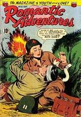 Romantic Adventures 25 (Michael Vance1) Tags: woman man art love comics artist marriage comicbook dating romantic lover relationships cartoonist silverage