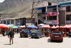Market in Khorugh (Michal Pawelczyk) Tags: trip holiday mountains bike bicycle june nikon asia flickr market marketplace aim bazaar centralasia baz targ pamir wakacje 2015 czerwiec azja d80 pamirhighway gbao azjasrodkowa khorugh azjacentralna chorog