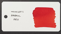 Noodler's Rabaul Red - Word Card