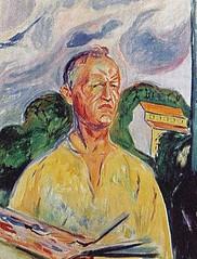 zelfportret Edvard Munch 1926 (JANKUIT) Tags: selfportrait schilder museum vincent edvard gogh munch zelfportret vangogh vangoghmuseum verbinding gelijkheid